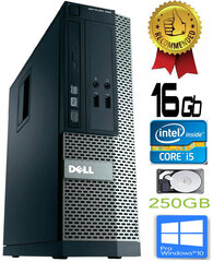 Dell Optiplex 390 i5-2400 16GB 250GB DVDRW Windows 10 Professional kaina ir informacija | Dell Optiplex 390 i5-2400 16GB 250GB DVDRW Windows 10 Professional | pigu.lt