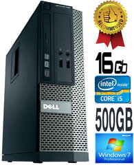 Dell Optiplex 390 i5-2400 16GB 500GB DVDRW Windows 7 Professional kaina ir informacija | Dell Optiplex 390 i5-2400 16GB 500GB DVDRW Windows 7 Professional | pigu.lt