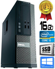 Dell Optiplex 390 i5-2400 16GB 120GB SSD DVDRW Windows 10 Professional kaina ir informacija | Dell Optiplex 390 i5-2400 16GB 120GB SSD DVDRW Windows 10 Professional | pigu.lt