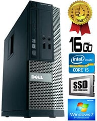 Dell Optiplex 390 i5-2400 16GB 480GB SSD DVDRW Windows 7 Professional kaina ir informacija | Dell Optiplex 390 i5-2400 16GB 480GB SSD DVDRW Windows 7 Professional | pigu.lt