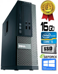 Dell Optiplex 390 i5-2400 16GB 480GB SSD GT710 2gb DVDRW Windows 10 Professional kaina ir informacija | Dell Optiplex 390 i5-2400 16GB 480GB SSD GT710 2gb DVDRW Windows 10 Professional | pigu.lt