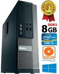 Dell Optiplex 390 i5-2400 8GB 320GB DVDRW Windows 10 kaina ir informacija | Stacionarūs kompiuteriai | pigu.lt
