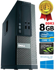 Dell Optiplex 390 i5-2400 8GB 500GB GTX1650 4GB DVDRW Windows 10 kaina ir informacija | Dell Optiplex 390 i5-2400 8GB 500GB GTX1650 4GB DVDRW Windows 10 | pigu.lt