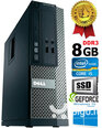 Dell Optiplex 390 i5-2400 8GB 480SSD GTX1650 4GB DVDRW Windows 10