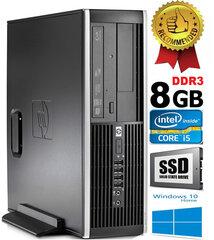 HP Compaq Elite 8100 Intel® Core™ i5-650 8GB 240GB SSD Windows 10 kaina ir informacija | HP Compaq Elite 8100 Intel® Core™ i5-650 8GB 240GB SSD Windows 10 | pigu.lt