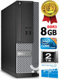 Dell Optiplex 7020 i3-4130 3.4Ghz 8GB 2TB HDD Windows 10 Professional