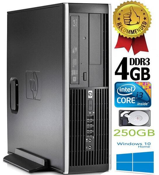 HP Compaq Elite 8200 Intel® Core™ i3-2100 4GB 250GB Windows 10 kaina ir informacija | Stacionarūs kompiuteriai | pigu.lt