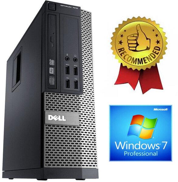 Dell Optiplex 7010 i5-3470 12GB 120GB SSD Windows 7 Professional kaina ir informacija | Stacionarūs kompiuteriai | pigu.lt