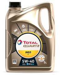 TOTAL Quartz INEO C3 5W-40 variklių alyva, 5L kaina ir informacija | TOTAL Quartz INEO C3 5W-40 variklių alyva, 5L | pigu.lt