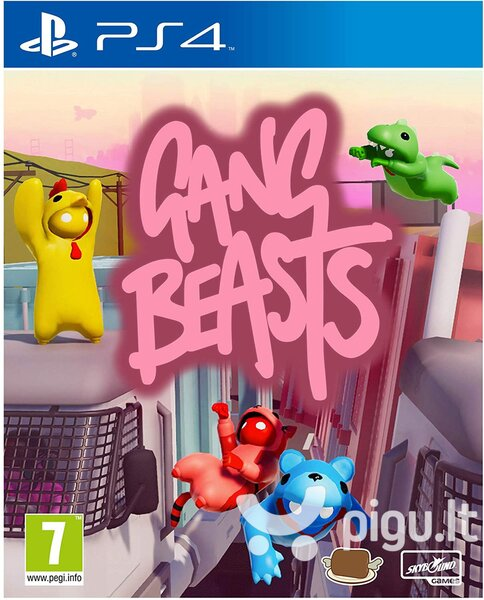 Gang Beasts PS4