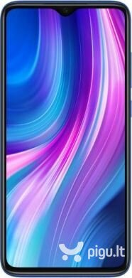 Xiaomi Redmi Note 8 Pro, Dual sim, 6/128GB, Dark Blue kaina