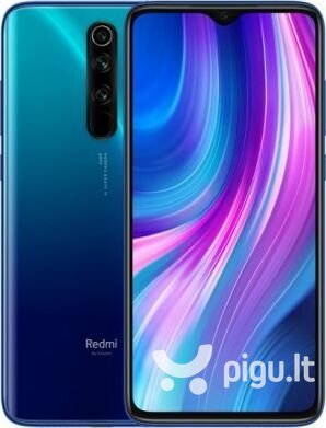 Xiaomi Redmi Note 8 Pro, Dual sim, 6/128GB, Dark Blue