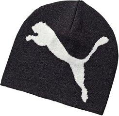 Kepurė Puma Ess Big Cat Beanie Grey kaina ir informacija | Puma Aksesuarai vyrams | pigu.lt