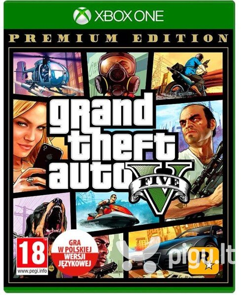Grand Theft Auto V Premium Edition, Xbox One