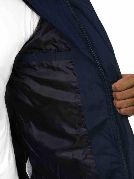 """Tamsiai mėlynos spalvos žieminė striukė su kailiniu gobtuvu """"Tumil"""" pigiau"""