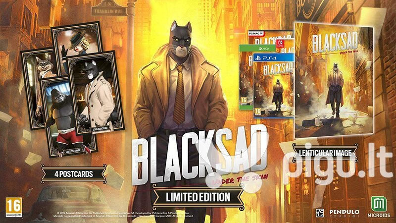 Blacksad: Under the Skin - Limited Edition NSW