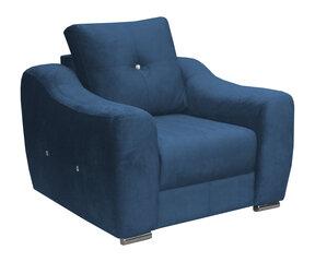 Fotelis Kobik Nessi Kronos 5, mėlynas kaina ir informacija | Svetainės foteliai | pigu.lt