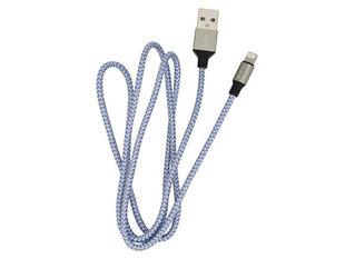 Devia Tube, USB - Lightning (5V 2.4A), 1m, Mėlyna kaina ir informacija | Laidai telefonams | pigu.lt