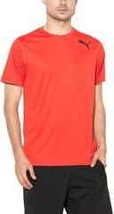Marškinėliai Puma Essntial SS Tee Flame Scar kaina ir informacija | Vyriški mаrškinėliai | pigu.lt