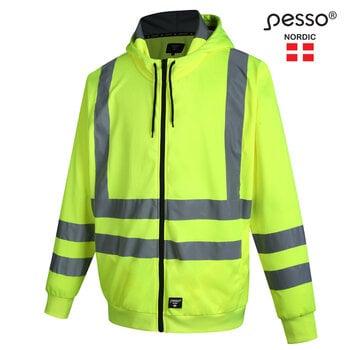 Džemperis Pesso HI-VIS, geltonas | FL03_G kaina ir informacija | Darbo rūbai | pigu.lt
