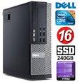 DELL 9020 SFF i5-4590 16GB 240SSD DVDRW WIN10Pro