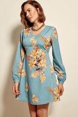 Suknelė moterims su gėlių raštu kaina ir informacija | Suknelės | pigu.lt