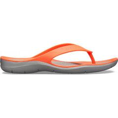 Šlepetės moterims Crocs™ Swiftwater Flip kaina ir informacija | Šlepetės moterims | pigu.lt