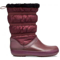 Aulinukai Crocs™ Women's Crocband Winter Boot kaina ir informacija | Aulinukai, ilgaauliai batai moterims | pigu.lt