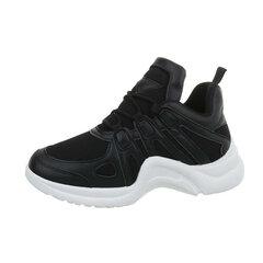 Laisvalaikio batai moterims, juodi kaina ir informacija | Laisvalaikio batai moterims, juodi | pigu.lt