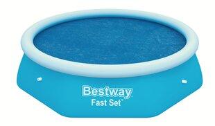 Baseino uždangalas Bestway Fast Set Solar 244 cm kaina ir informacija | Baseinų priedai | pigu.lt
