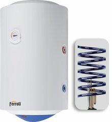 Prekės aprašymas: Elektrinis vandens šildytuvas Ferroli CALYPSO 80VE, vertikalus su 6 papildoma spirale kaina ir informacija | Prekės aprašymas: Elektrinis vandens šildytuvas Ferroli CALYPSO 80VE, vertikalus su 6 papildoma spirale | pigu.lt