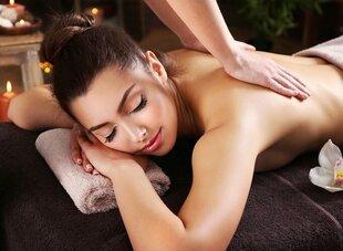 Atpalaiduojančio nugaros ir rankų masažo dovanų kuponas kaina ir informacija | Laisvalaikio kuponai | pigu.lt