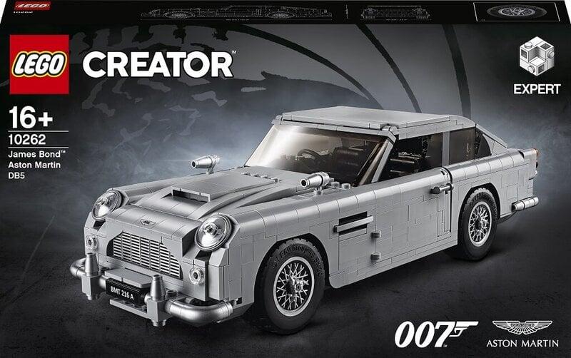 10262 LEGO® Creator Expert James Bond™ Aston Martin DB5 kaina ir informacija | Konstruktoriai ir kaladėlės | pigu.lt