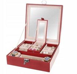 Papuošalų dėžutė Burgundy mona kaina ir informacija | Interjero detalės | pigu.lt