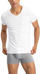 Vyriški apatiniai marškinėliai Puma Basic 2P V-N White kaina ir informacija | Vyriški apatiniai marškinėliai | pigu.lt