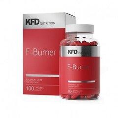 Maisto papildas KFD F-Burner, 100 kaps. kaina ir informacija | Riebalų degintojai | pigu.lt