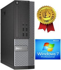 Dell 7020 SFF i5-4670 4GB 240GB SSD 2TB Windows 7 Professional kaina ir informacija | Dell 7020 SFF i5-4670 4GB 240GB SSD 2TB Windows 7 Professional | pigu.lt