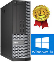 Dell 7020 SFF i5-4670 4GB 240GB SSD 1TB Windows 10 kaina ir informacija | Dell 7020 SFF i5-4670 4GB 240GB SSD 1TB Windows 10 | pigu.lt
