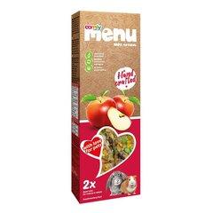 Comfy Menu skanėstai triušiams ir graužikams su obuoliais, 90 g kaina ir informacija | Maistas graužikams | pigu.lt