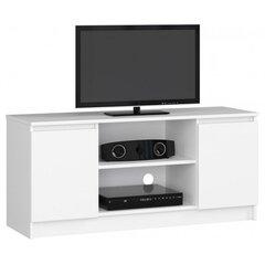 TV staliukas NORE RTV K120, baltas kaina ir informacija | TV staliukai | pigu.lt