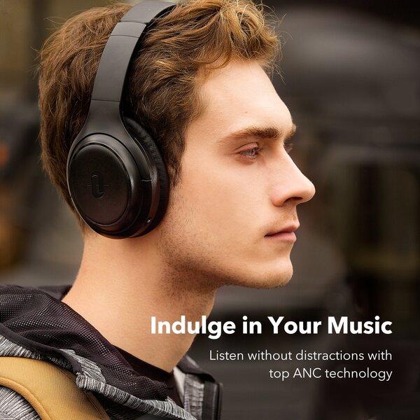 Belaidės ausinės, blokuojančios garsą, TaoTronics TT-BH060 pigiau