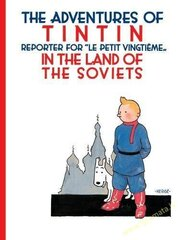Tintin in the Land of the Soviets цена и информация | Книги | pigu.lt
