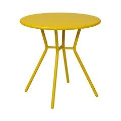 Lauko stalas Helsinki, geltonas kaina ir informacija | Lauko stalas Helsinki, geltonas | pigu.lt