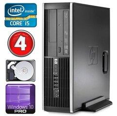 HP 8100 Elite SFF i5-750 4GB 250GB NVS295 DVD WIN10Pro kaina ir informacija | Stacionarūs kompiuteriai | pigu.lt