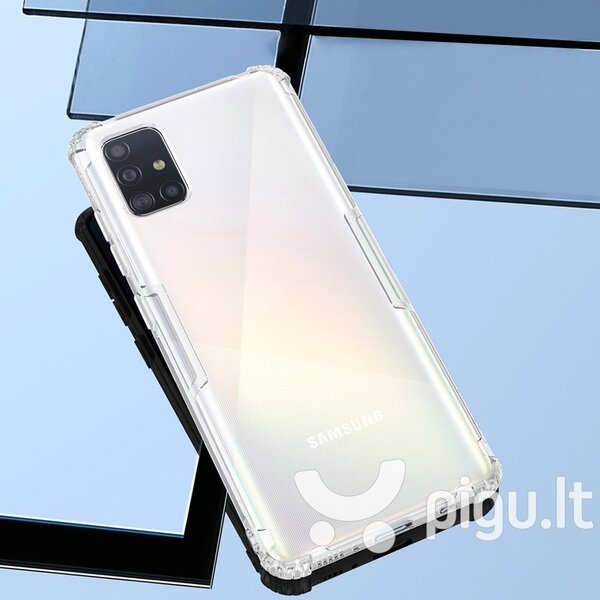 Nillkin Nature TPU Case Gel Ultra Slim Cover for Samsung Galaxy A51 transparent