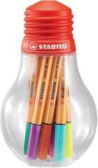 Rašiklių rinkinys Stabilo Point 88 Mini Colorful, 12 vnt. цена и информация | Письменные принадлежности | pigu.lt
