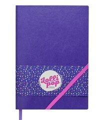 Užrašų knygutė Lollipop, A5 kaina ir informacija | Sąsiuviniai ir popieriaus prekės | pigu.lt