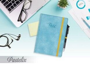 Darbo knyga su guma A5 Pastelix, linija kaina ir informacija | Verslo dovanos | pigu.lt