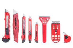 Peilių ir grandiklių rinkinys, 8 vnt. kaina ir informacija | Mechaniniai įrankiai | pigu.lt