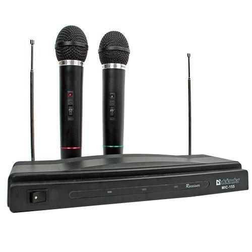 Belaidžių mikrofonų komplektas Defender MIC-155